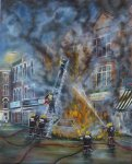 Clarence Road fire by David Gayda