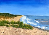 Corton Beach by Linda Bagnelle